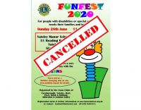 Funfest 2020 cancelled