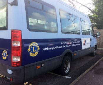 Farnborough College of Technology Minibus