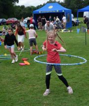 Circus skills on show at Funfest