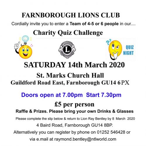 Click here to download the Spring Quiz Night entry form